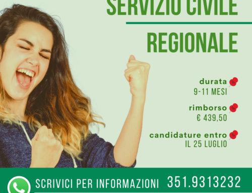 In cosa consiste il Servizio Civile Regionale?